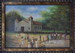 VINTAGE ORIGINAL OIL OF SOUTHERN BAPTISM