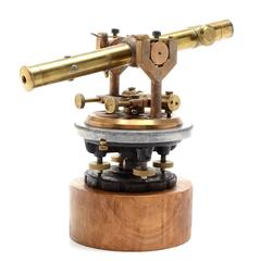 Antique Bostrum-Brady Brass Surveyor's Transit