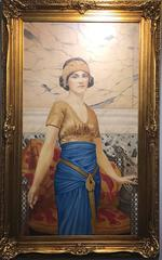 Large Early 20th Century British Neo-Classical Oil Painting