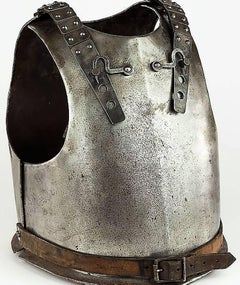Original 18th Century European Cuirass Plate Armor (Breastplate and Backplate)