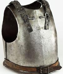 Original 18th Century European Cuirass Plate Armor (Breastplate and Backplate)