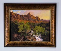 """Oil Painting by James Dudley Slay III Entitled """"Zion"""""""