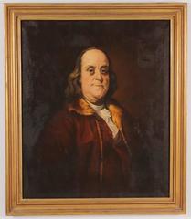 Portrait of Benjamin Franklin After Joseph Duplessis (1725-1802)