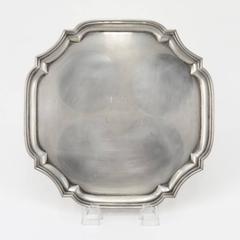 Tiffany Sterling Silver Cut Corner Tray