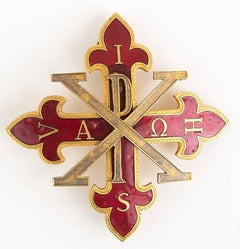 Italy Sacred Military Constantinian Order of Saint George Badge