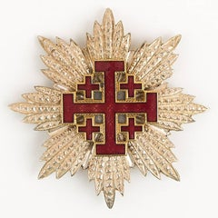 Rare Order of the Holy Sepulcher of Jerusalem Knight Grand Cross Badge