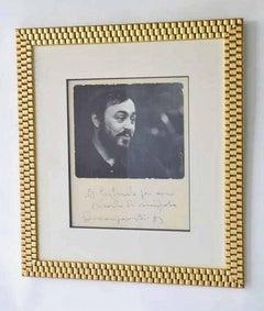 Luciano Pavarotti Autographed Presentation