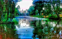Remarkable Original Riverscape Photograph by Anuar Rabadan