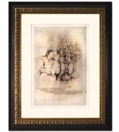 """Wonderful Painting by Brachi Horen Entitled """"Candle Prayer"""""""