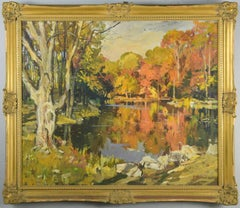 Landscape Oil Painting by American Artist George Cherepov