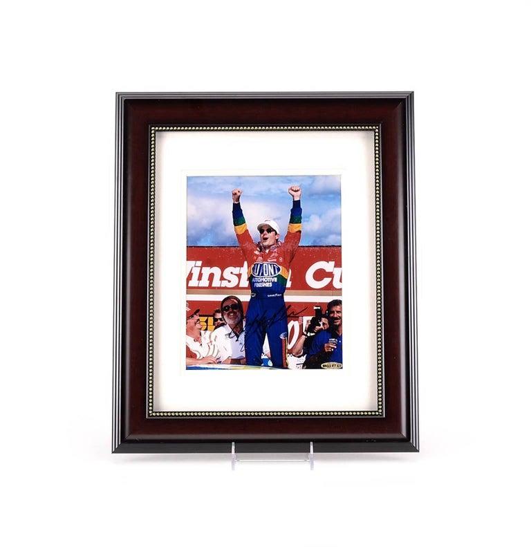 Very Nice Autographed Jeff Gordon Photo with Authentication Hologram & COA - Photograph by Jeff Gordon