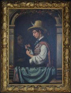 Beautiful 19th Century Oil Painting – Italian School