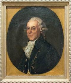 Thomas Beach (Attr) 18th Century Portrait Oil Painting, British School