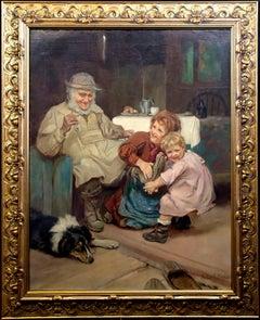 19th Century Oil Painting by Famed British Artist Arthur J. Elsley
