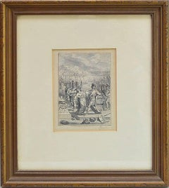 Bernard Picart Old Master Drawing Circa 1720