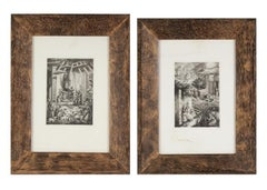 A Pair of Mystery Artist Etchings from the Bass Museum