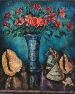 Jean Vervisch Still Life Floral Painting