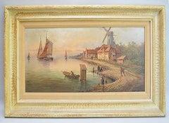 Hendrik Willem Mesdag 19th Century Dutch