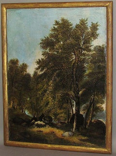 Landscape Painting by Max Sinclair dated 1855