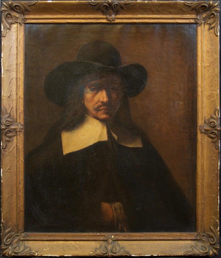 After) Rembrandt van Rijn - The Anatomy Lesson, Antique Oil Painting ...