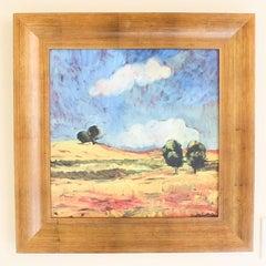 Fantastic Original Post-Impressionism Oil Painting by Marc Mindeli