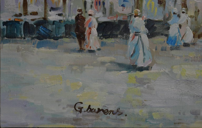 Signed G. Barens Oil on Canvas - Painting by Unknown