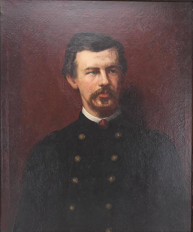Amazing 19th Century Portrait of Civil War Colonel Robert Shaw by Eastman Johnso 2