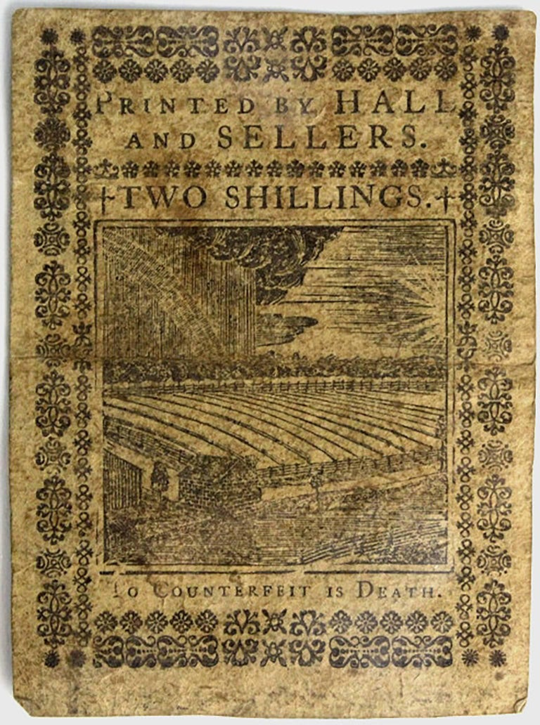 Unknown Antique Colonial Currency 1773 Pennsylvania 2