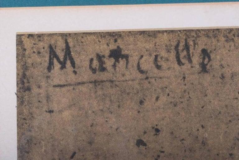henri de toulouse lautrec lautrec portrait of marcelle limited edition lithograph in colors. Black Bedroom Furniture Sets. Home Design Ideas