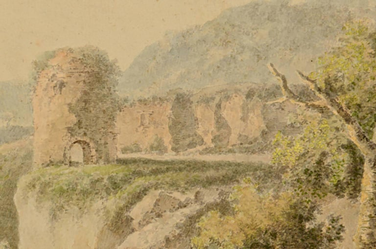 18th Century Henrious Josephus Antonissen Watercolor For Sale 2