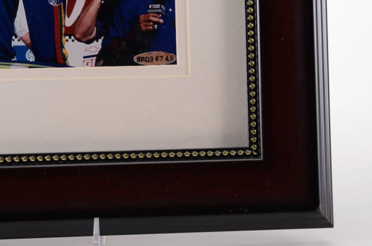 Very Nice Autographed Jeff Gordon Photo with Authentication Hologram & COA For Sale 1
