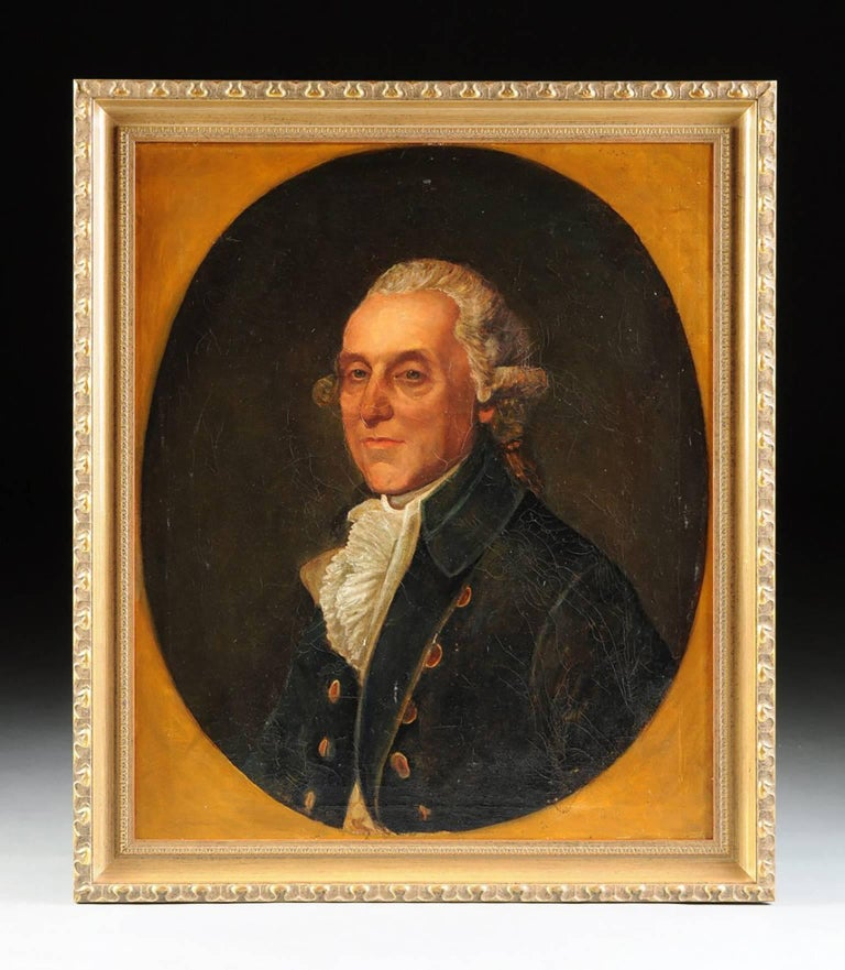 Thomas Beach (Attr) 18th Century Portrait Oil Painting, British School 2