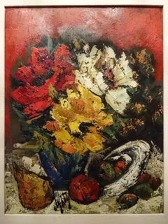 Original Floral Still Life Oil Painting