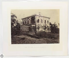 Civil War Albumen Photograph – The Potter House Atlanta – George N. Barnard