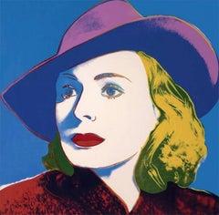 Ingrid Bergman with Hat