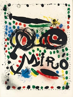 "Poster for the Exhibition Joan Miro Graphics"" Philadelphia Museum of Art"