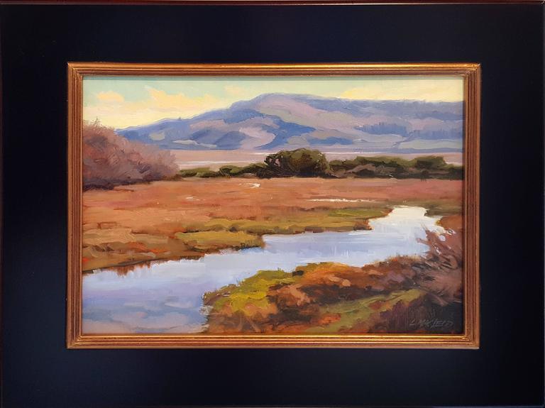 Lee MacLeod Landscape Painting - Tidal Lagoon