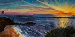 Sunset over Catalina