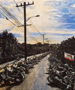 Bikes at Cook's Corner