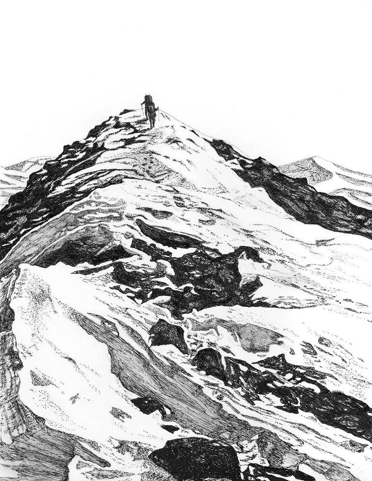 Ludo Leideritz Landscape Art - Final Ascent