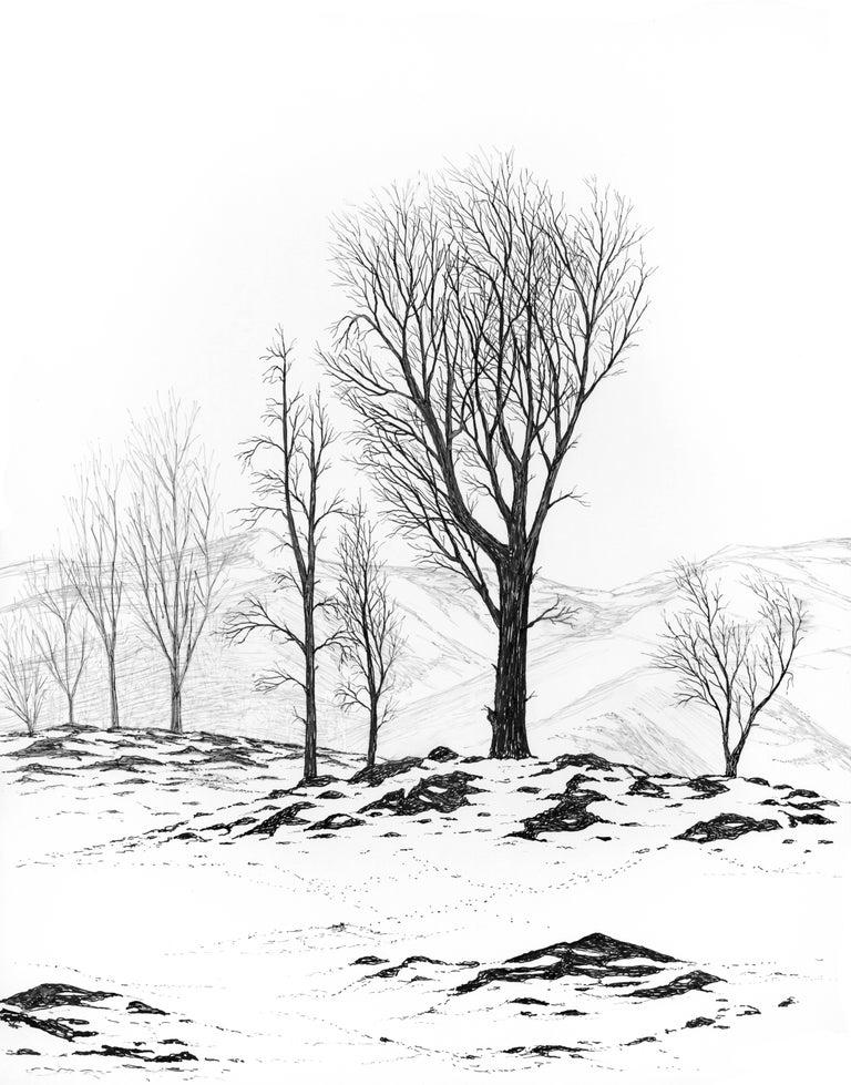 Ludo Leideritz Landscape Art - First Snowfall