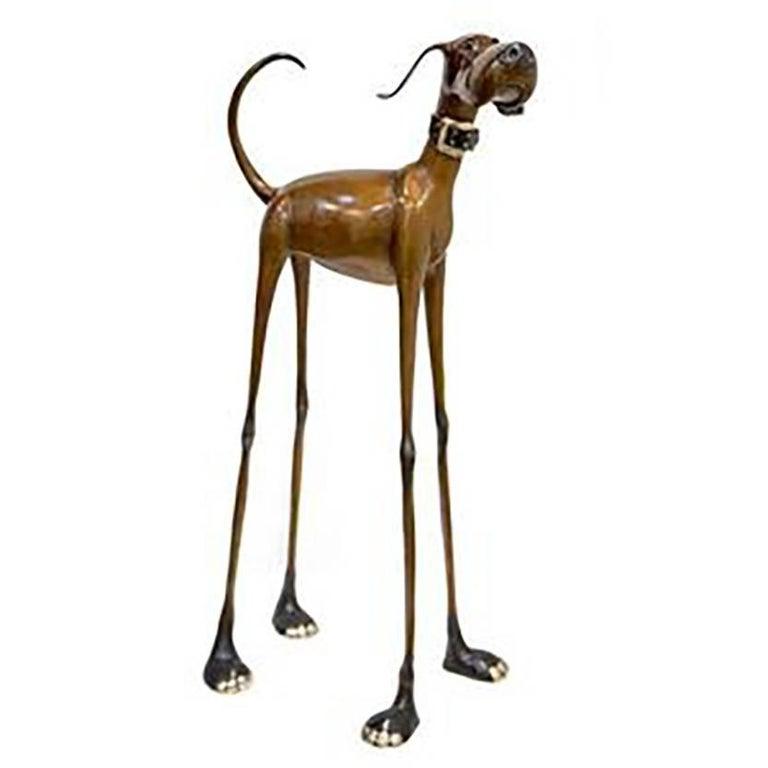 Marty Goldstein Figurative Sculpture - Stretch