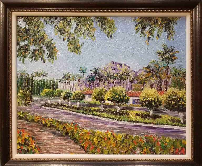 James M. Bullock Landscape Painting - La Quinta #2