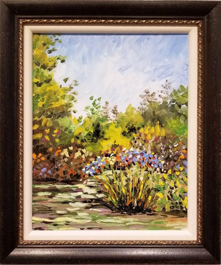 James M. Bullock Landscape Painting - Descanso Muse