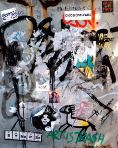 Art Is Trash, New York, 2014