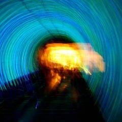 Blue Lightshow