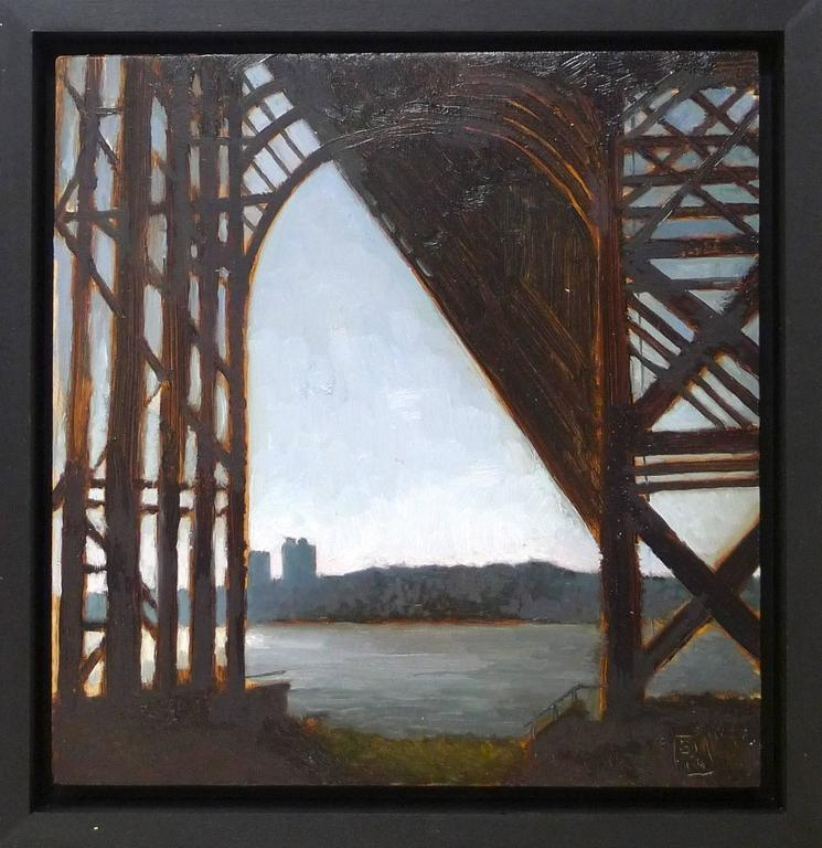 Sunset under the G.W.Bridge