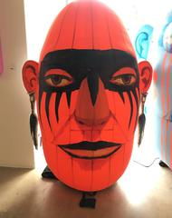 Janis Project Small red inflatable sculpture