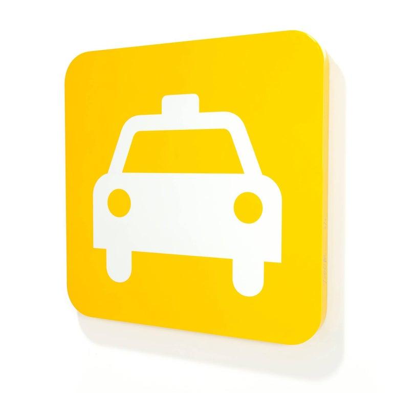 Todd Pierce, Yellow Cab - Art by Todd Pierce