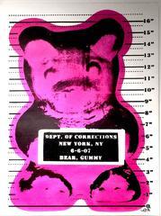 Vandal Gummy Bear - Canvas